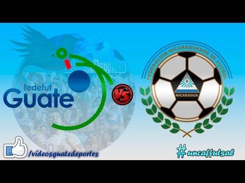 Guatemala vs Nicaragua | UNCAF Futsal 2016