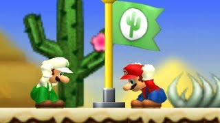 Newer Super Mario Bros. Wii - 2 Player Co-Op - #4