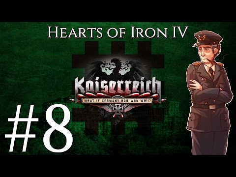 [8] Hearts of Iron IV - Kaiserreich - Iron Guard Romania -  Fixing border gore