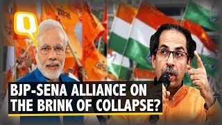 Ahead of 2019 Polls, Bridge Between BJP & Sena About To Collapse? | The Quint
