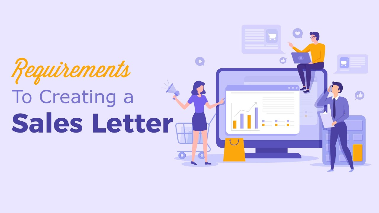 Requirements To Creating A Sales Letter Youtube
