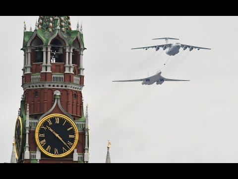 Трансляция: воздушный парад в Москве 9 мая 2020 года