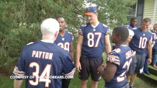 Bears rookies surprise season ticket holders