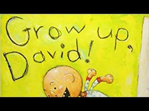Story Time: Grow Up, David!~「デイビッド」シリーズの絵本~