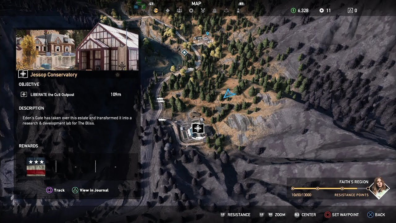 Far Cry 5 Henbane River Outpost Jessop Conservatory