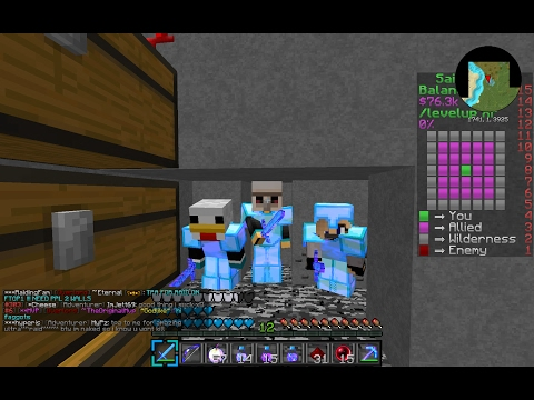Minecraft SaicoPvP Traping people and coords to the trap lef