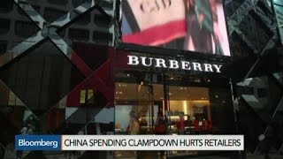 China's Spending Clampdown Hurts Luxury Retailers