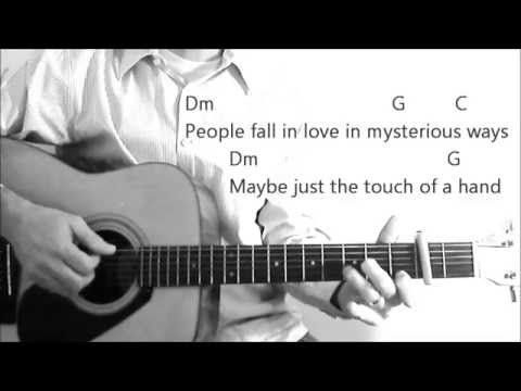 Thinking Out Loud Ed Sheeran Cover Lyrics Chords Youtube