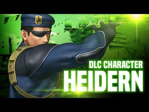 KOF XIV: Heidern DLC Character