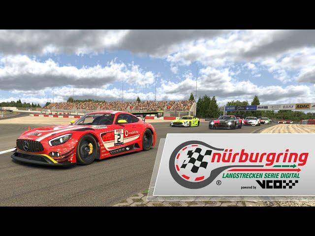 Rennen 3 – Digitale Nürburgring Langstrecken-Serie powered by VCO