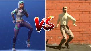 NEW BONELESS FORTNITE EMOTE IN REAL LIFE! Fortnite battle Royale dances in real life