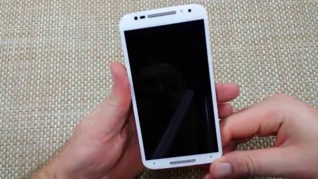 Motorola Moto X 2014 How to do a Soft Reset Reboot Phone Not Responding  Wont Power On 2nd Generation