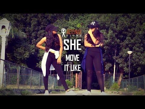 SHE MOVE IT LIKE | Badshah | Shrishti & Sunishka | Cover Dance