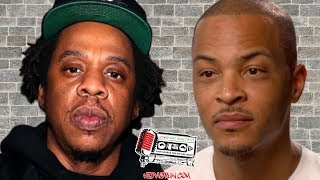T. I. Went Viral Today For Posting This Controversial Message About Jay Z!!