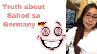 Sahod sa Germany ng isang nurse l Magkano? l Filipina Nurse