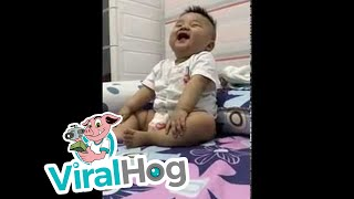 Happy Baby Giggles are the Best || ViralHog