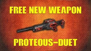 *NEW FREE WEAPON* | PROTEOUS-DUET | SNIPER & SHOTGUN!? | CALL OF DUTY INFINITE WARFARE