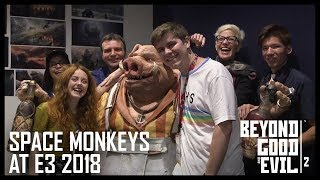 Beyond Good and Evil 2: Space Monkeys at E3 2018 - Private BGE2 Demo and HitRECord | Ubisoft [NA]