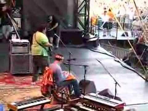 Backstage for Ben Harper at Austin City Limits 2006 - Part1