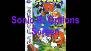 Sonic R Music: Options Screen Theme