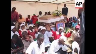Video Start of funeral ceremony for PM's wife, Tsvangirai, coffin download MP3, 3GP, MP4, WEBM, AVI, FLV Oktober 2018