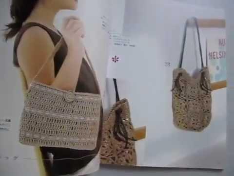 Japanese Crochet Pattern Book Isbn 9784834723854 Youtube