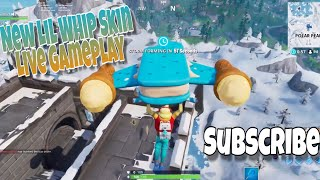 Live Ps4. Fortnite Fun. Earthquakes. Lil Whip Skin Gameplay. PS4 PRO Gameplay