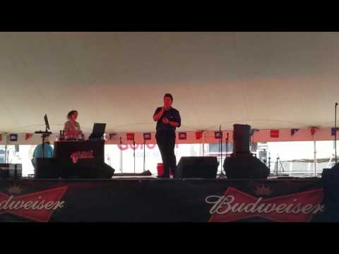 Illinois State Fair 2016 Karaoke Contest - Dakota Salem - Hallelujah  (cover)