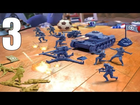 Army Men Strike Android Gameplay #3 - 동영상