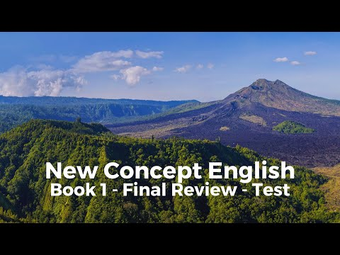 New Concept English - Book 1 - Final Review - Test