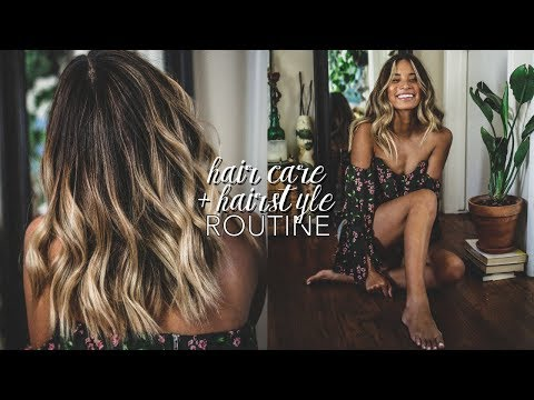 My Hair Care Routine // How I Style My Hair