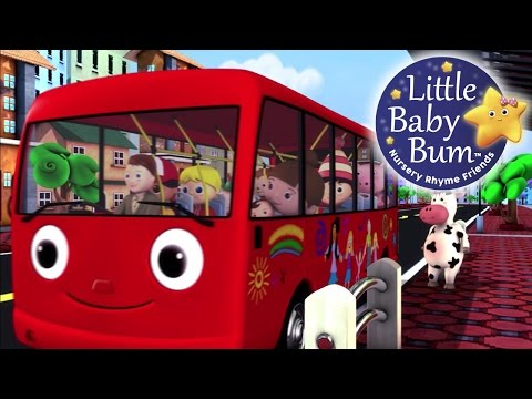 Wheels On The Bus | Part 2 | Nursery Rhymes | LittleBabyBum!