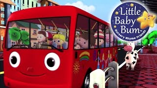 Wheels On The Bus | Part 2 | Nursery Rhymes | HD Version from LittleBabyBum