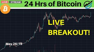 Bitcoin Live Breakout Coverage | May 26/19