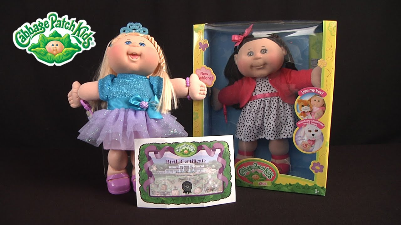 Cabbage Patch Kids from Wicked Cool Toys