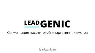 Урок по сегментации трафика и настройке виджетов LeadGenic на разные сегменты посетителей