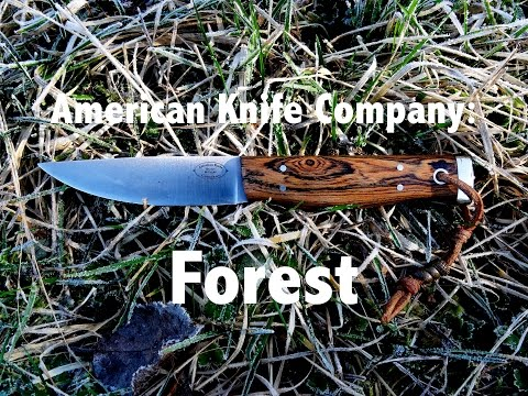 American Knife Company: Forest Knife [German]