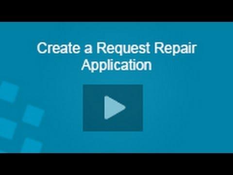 Field Service Request Application