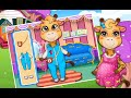 "Mommy's Newborn Giraffe Baby ""Educational Games"" Android Gameplay Video"