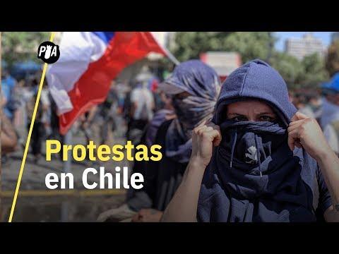 Te explicamos por qué protesta la gente en Chile