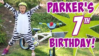 Parker's Birthday Special - 7 Years Old!