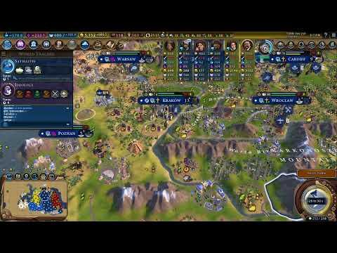 Civilization VI GS FFA 8(играем в военную победу)
