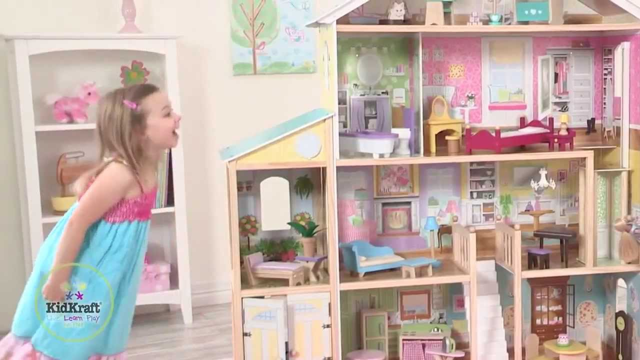 Kidkraft Majestic Mansion Deluxe Pretend Play Dollhouse 65252