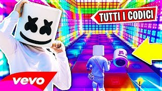 TOP 10 CANZONI CREATE su FORTNITE MUSIC BLOCKS *Marshmello - ALONE* - Fortnite ITA