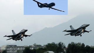 挑戰新聞軍事精華版 國軍漢光31號演習 美軍 rq 4 全球鷹無人機現蹤情蒐 空軍f16升空攔截