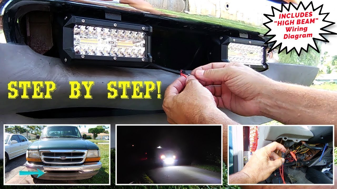 How To Wire Up & Install LED Light Bars Wiring A Led Light Bar on
