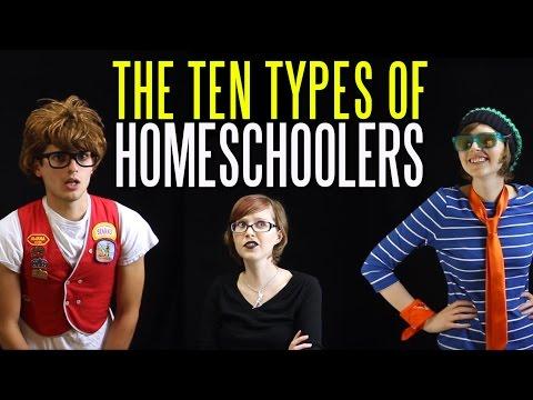 The Ten Types of Homeschoolers