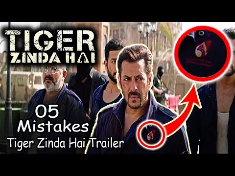 (5 mistakes) Tiger Zinda Hai Trailer |...