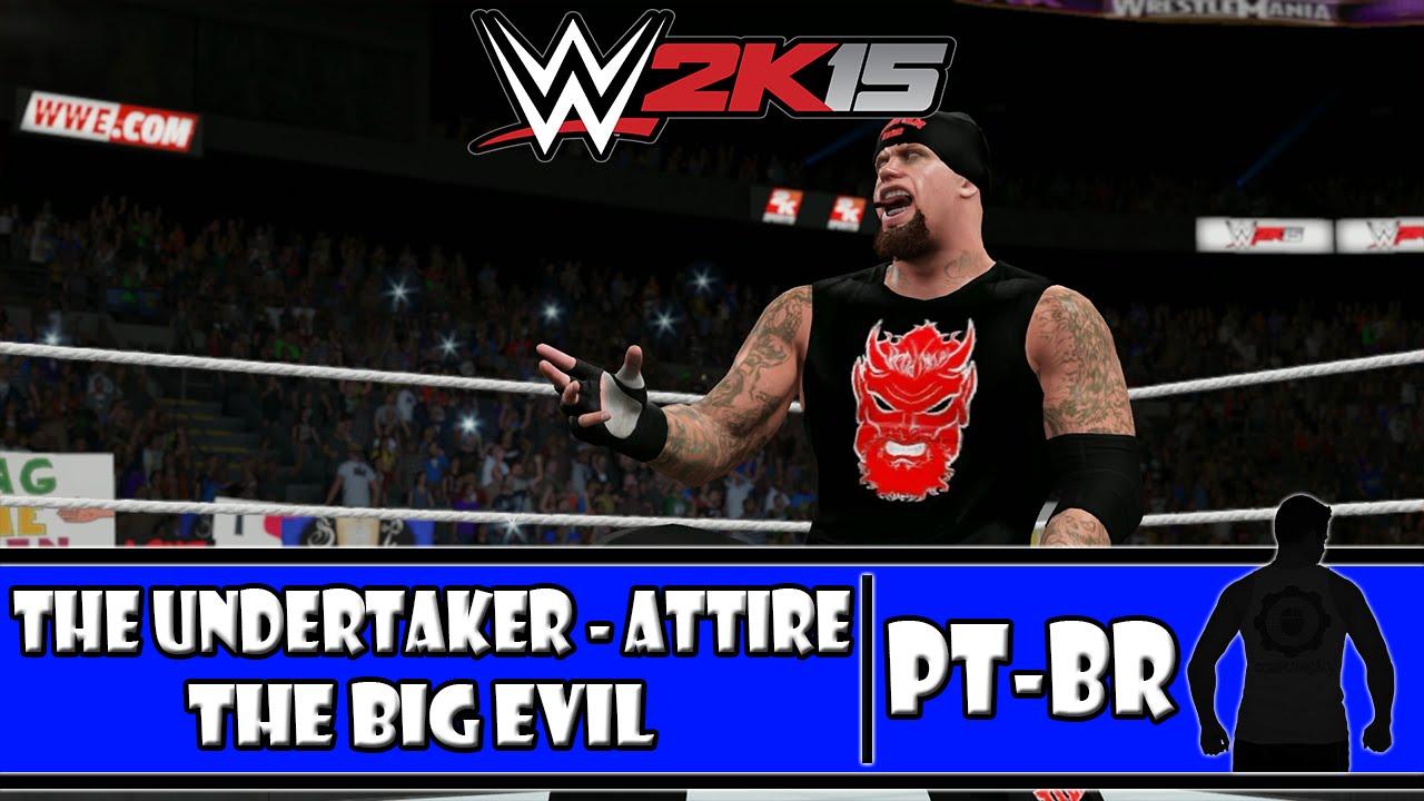 WWE 2K15 (PS4) - DEAD MAN WALKING: The Undertaker Big Evil ...