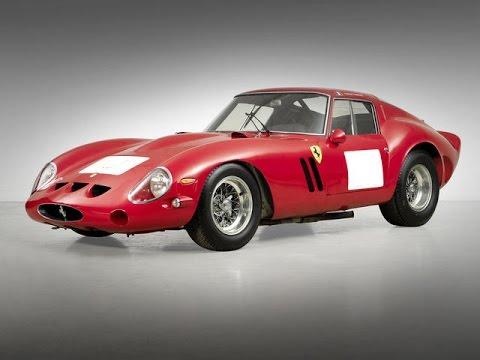 1962 Ferrari 250 GTO $38,115,000 Bonhams Auction 2014
